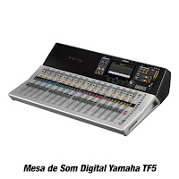 Mesa de Som Digital Yamaha TF5