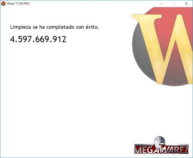 Wipe Pro 17.09 imagenes