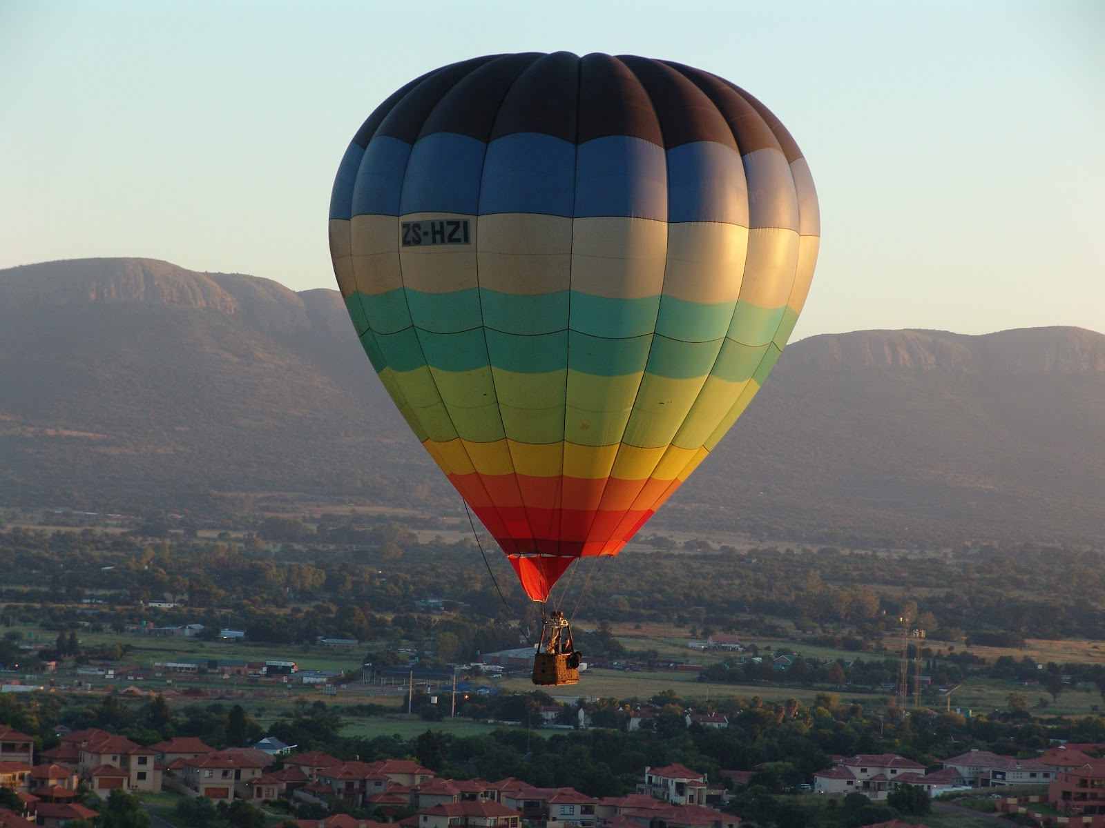 Knowing South Africa Hot Air Balloon Rides