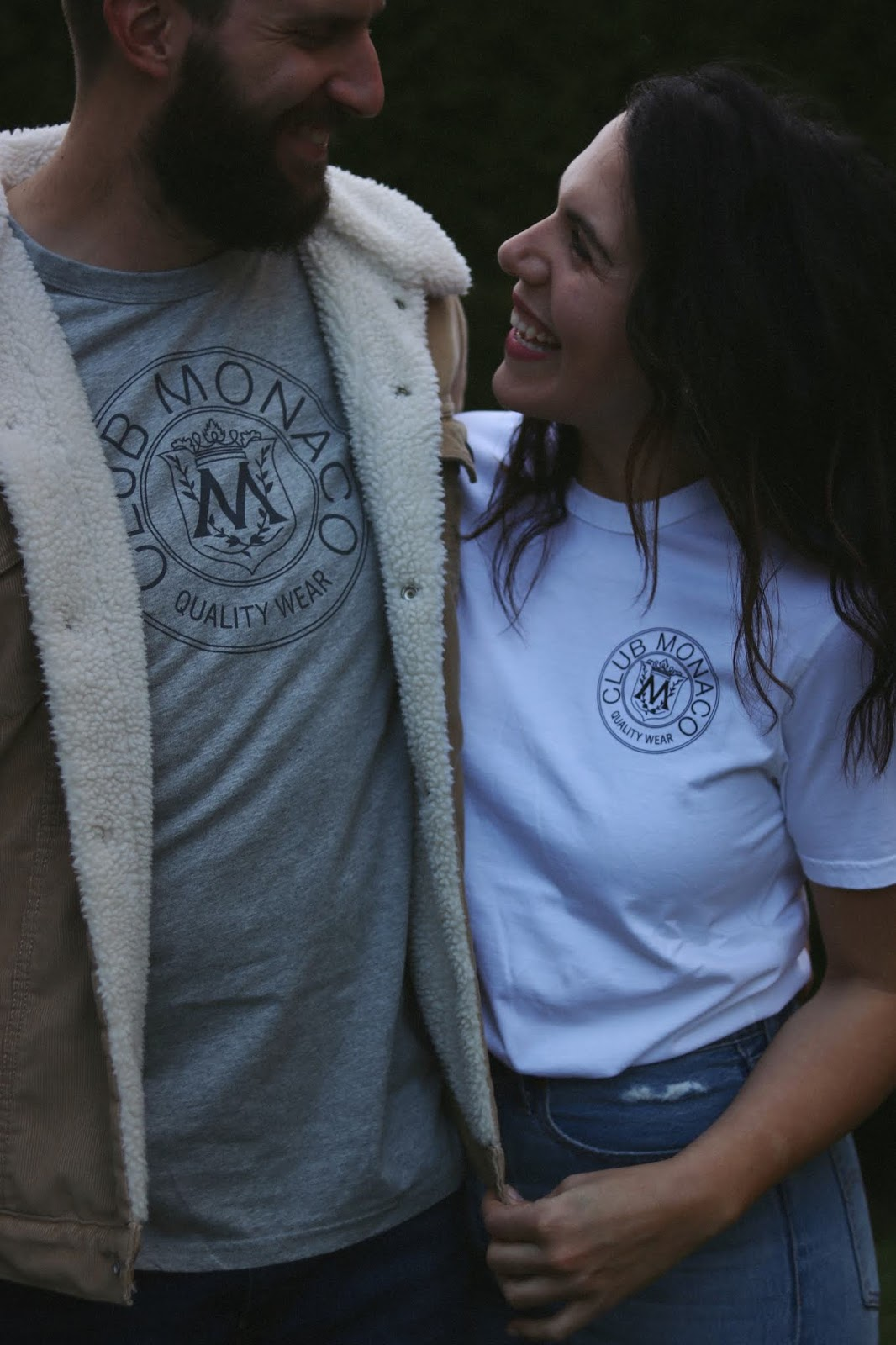 Club Monaco x Reigning champ t-shirt blogger aleesha harris vancouver style