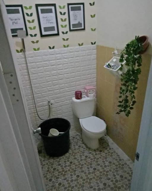 Inspirasi Rumah Minimalis Tipe 50 Kamar Mandi modern bersih