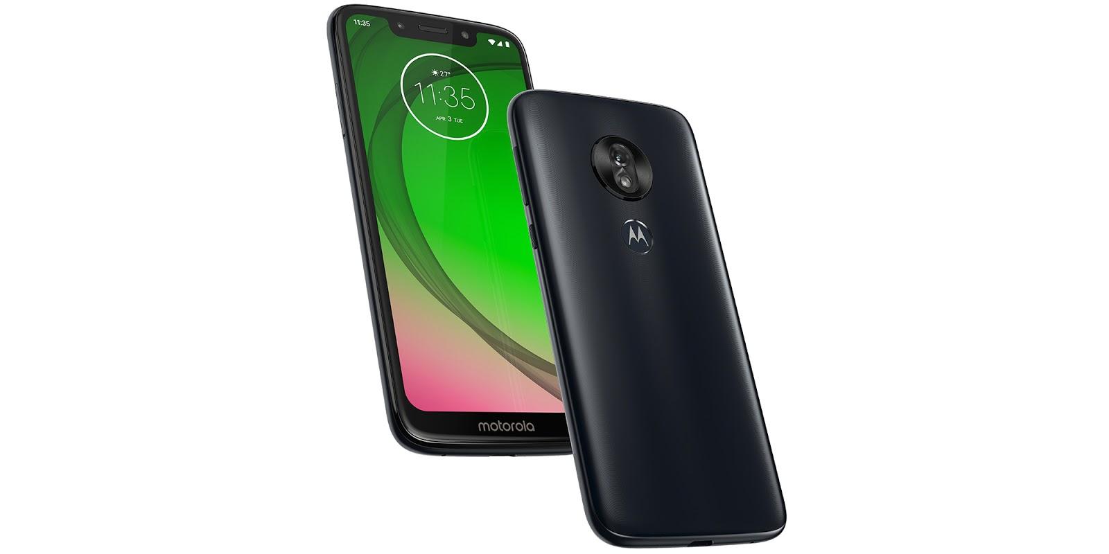 New Motorola Moto G7 series announced