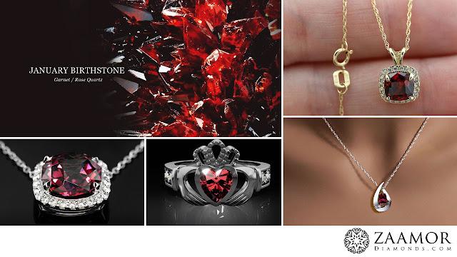 Garnet Jewellery