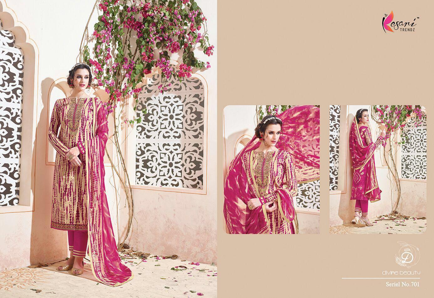 Alia 3 – Light Embroidered Printed Salwar Suit