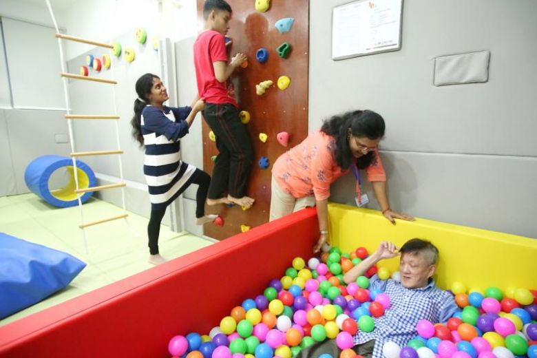 People with intellectual and development disabilities often face difficulty in regulating their sensory input, meaning that stimuli in their environments can overwhelm them, according to Mr Ramachandran Ashokkumar, head occupational therapist at Minds.