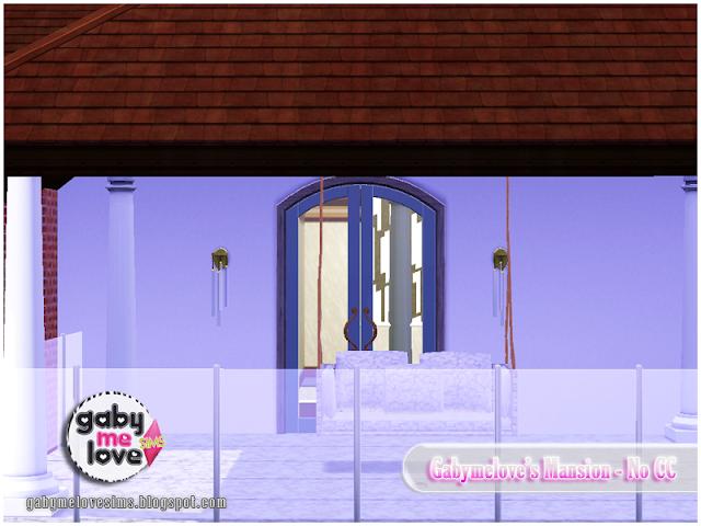 Gabymelove's Mansion |NO CC| ~ Lote Residencial, Sims 3. Balcón.
