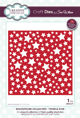 Background Collection Twinkle Star Die - CED3127