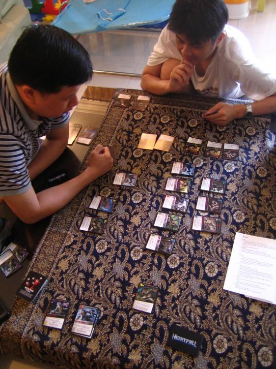 Hiew's Boardgame Blog: Nightfall