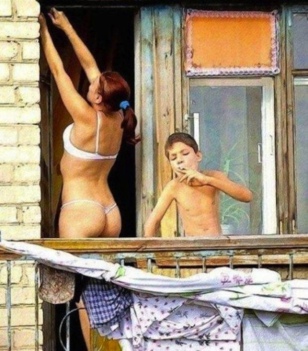 Nude and wild swingers