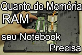 Como Escolher Memória Ram em Notebook