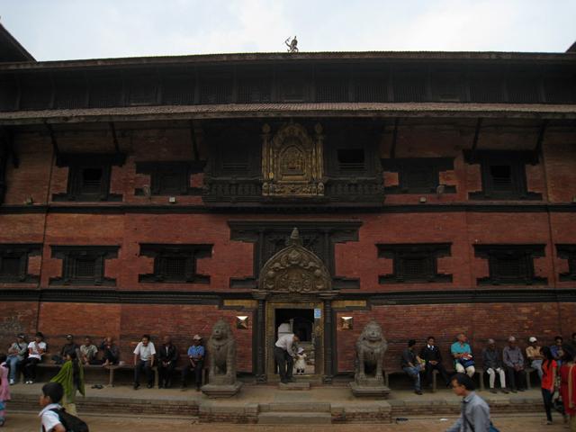 Fachada del Museo de Patan
