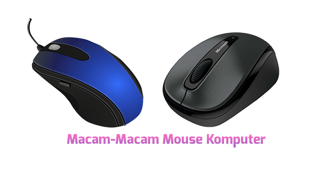 Macam-Macam Mouse Komputer