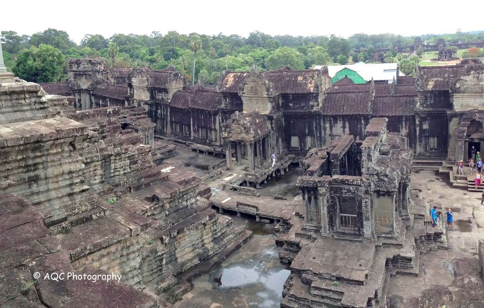 What Materials Were Used To Build Angkor Wat