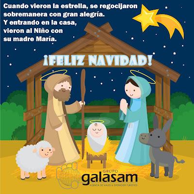 Feliz Navidad | Merry Christmas Galasam