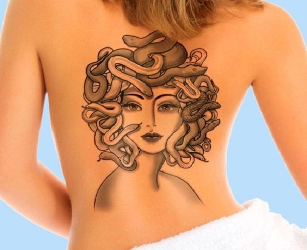 Tatuagem Medusa