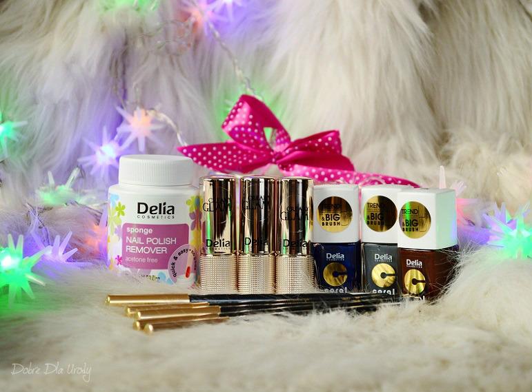 Kosmetyki do makijażu i manicure Delia Cosmetics