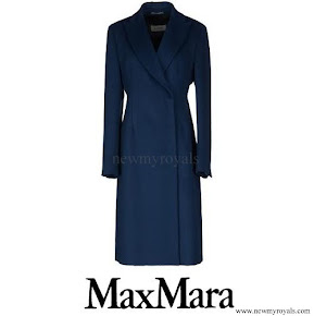 Crown Princess Mary wore MaxMara Wool Coat