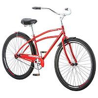 "Schwinn Stockton 29"" Men's Cruiser Bike, single speed bike with coaster brake"