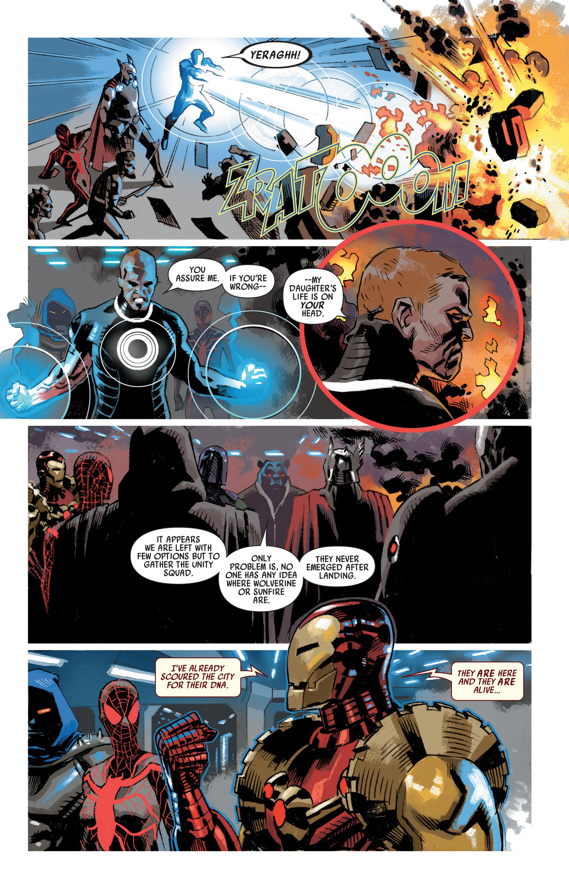 Read online Uncanny Avengers (2012) comic -  Issue #19 - 10