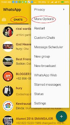 Cara Ganti Tema WhatsApp Android dengan Mudah Tanpa Root