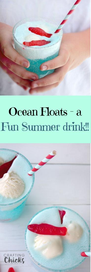 Ocean Floats #Fun #Summerdrink