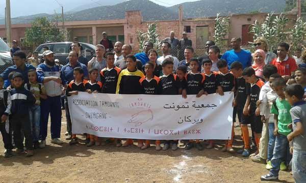 صبحية رياضية بمجموعة مدارس ويركان بإقليم الحوز