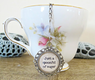 mary poppins tea infuser strainer domum vindemia quote just a spoonful of sugar