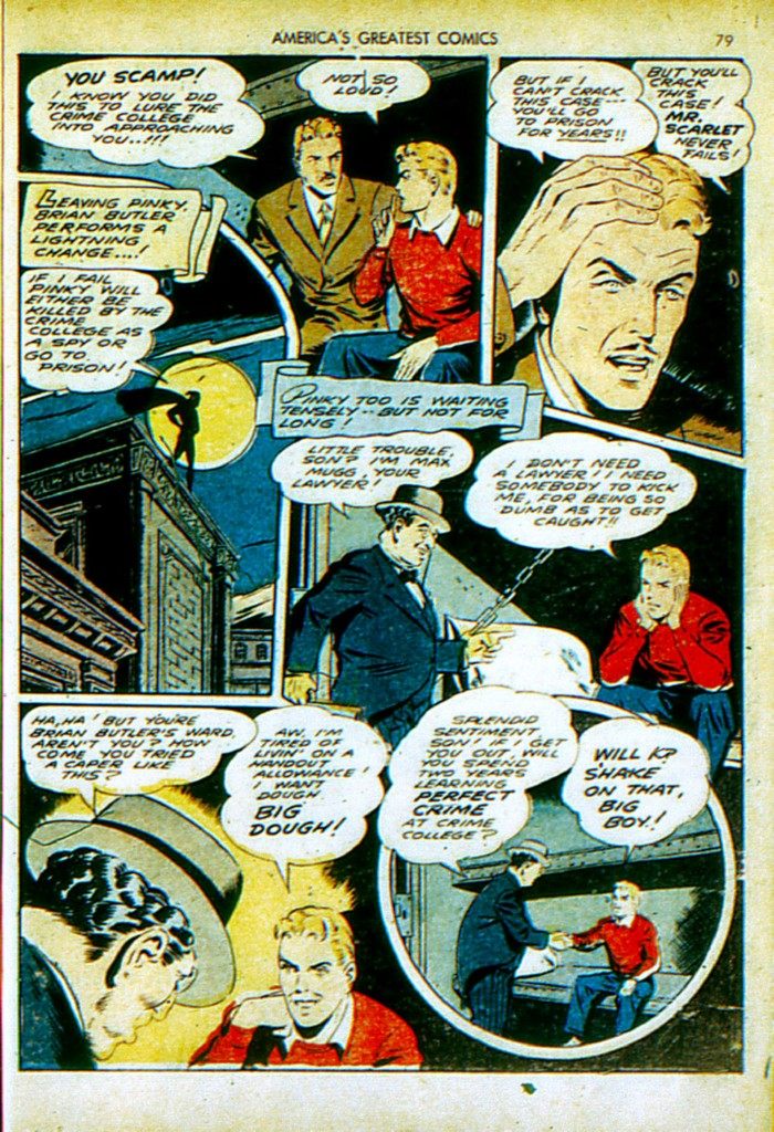 Read online America's Greatest Comics comic -  Issue #4 - 80