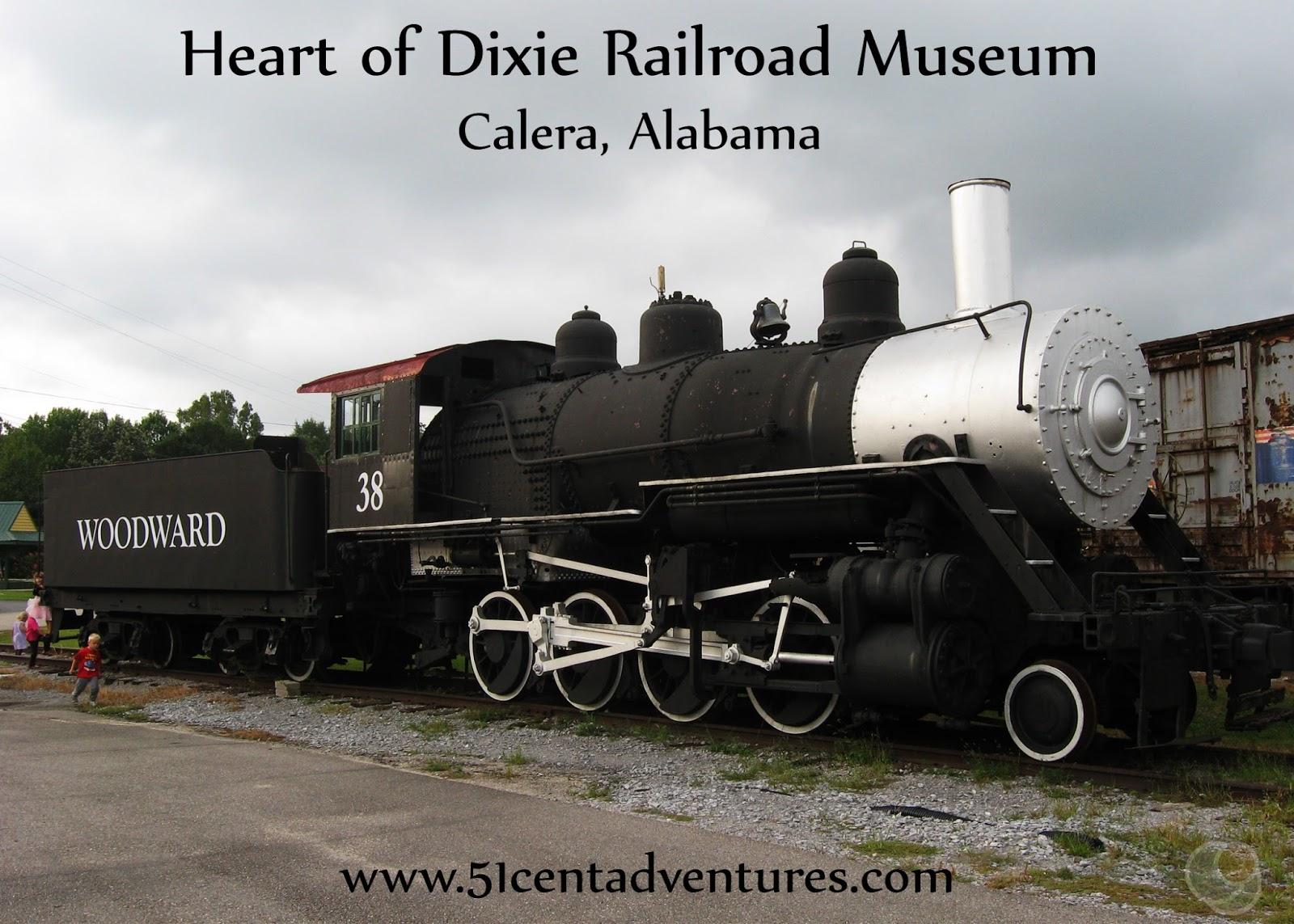 51 Cent Adventures: Heart of Dixie Railroad Museum - Calera