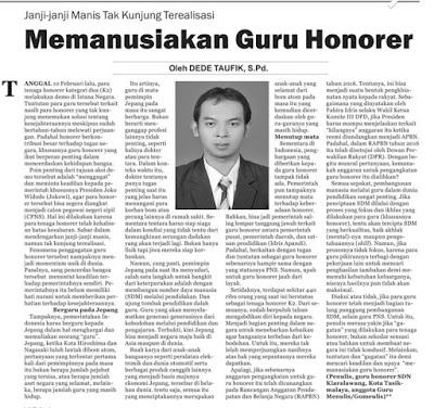 Opini Surat Kabar Galamedia