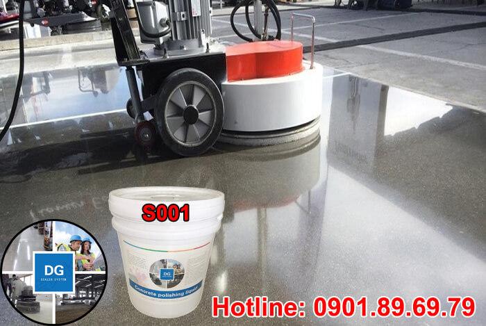 Hoá chất siêu bóng DG S001 hoá chất đánh bóng sàn bê tông