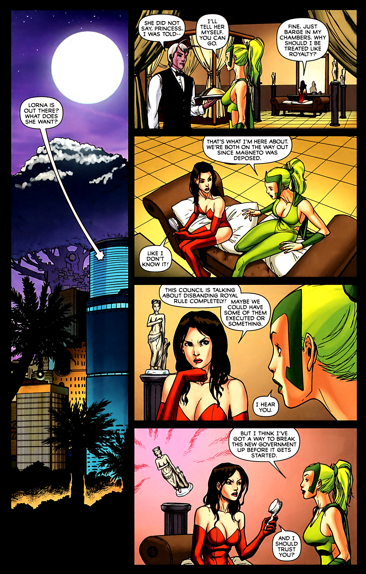 Read online Exiles (2009) comic -  Issue #6 - 3