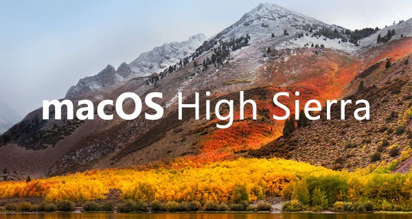 mac os high sierra dmg