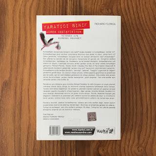 Yaratici Sinif Adres Degistiriyor - Yetenek Icin Kuresel Rekabet (Kitap) Arka Kapak