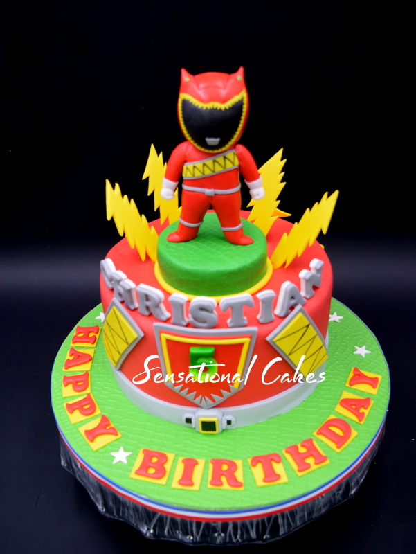 Power Ranger Cake Singapore