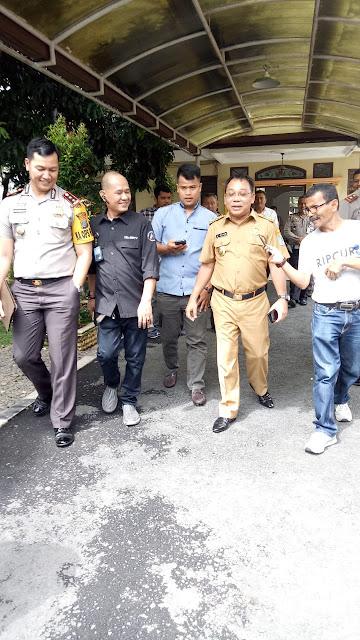 Walikota Binjai Belum Mengetahui Adanya Tersangka Ketua Parpol Dalam Kasus Alat Peraga SD Tahun 2011