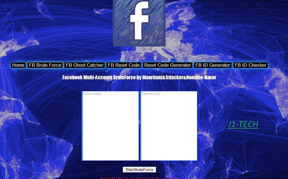 PRIVATE FACEBOOK HACKER KIT V1 2 BY ANON GHOST TEAM ~ J1-TECH