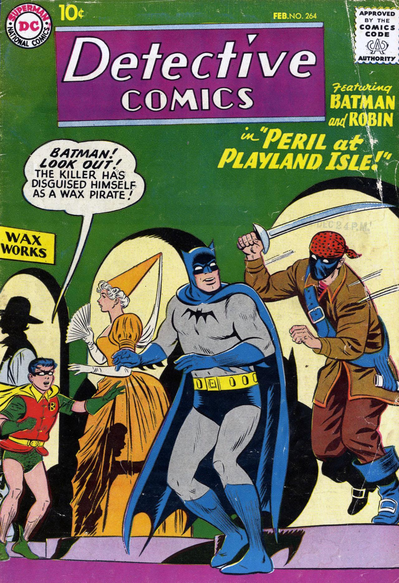 Detective Comics (1937) 264 Page 1