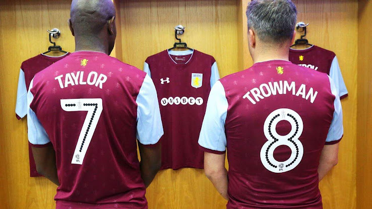 Aston Villa 17 18 Home Kit Released Footy Headlines