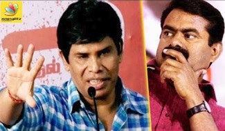 Actor Anandaraj Points Out At Seeman   Cauvery Water Issue