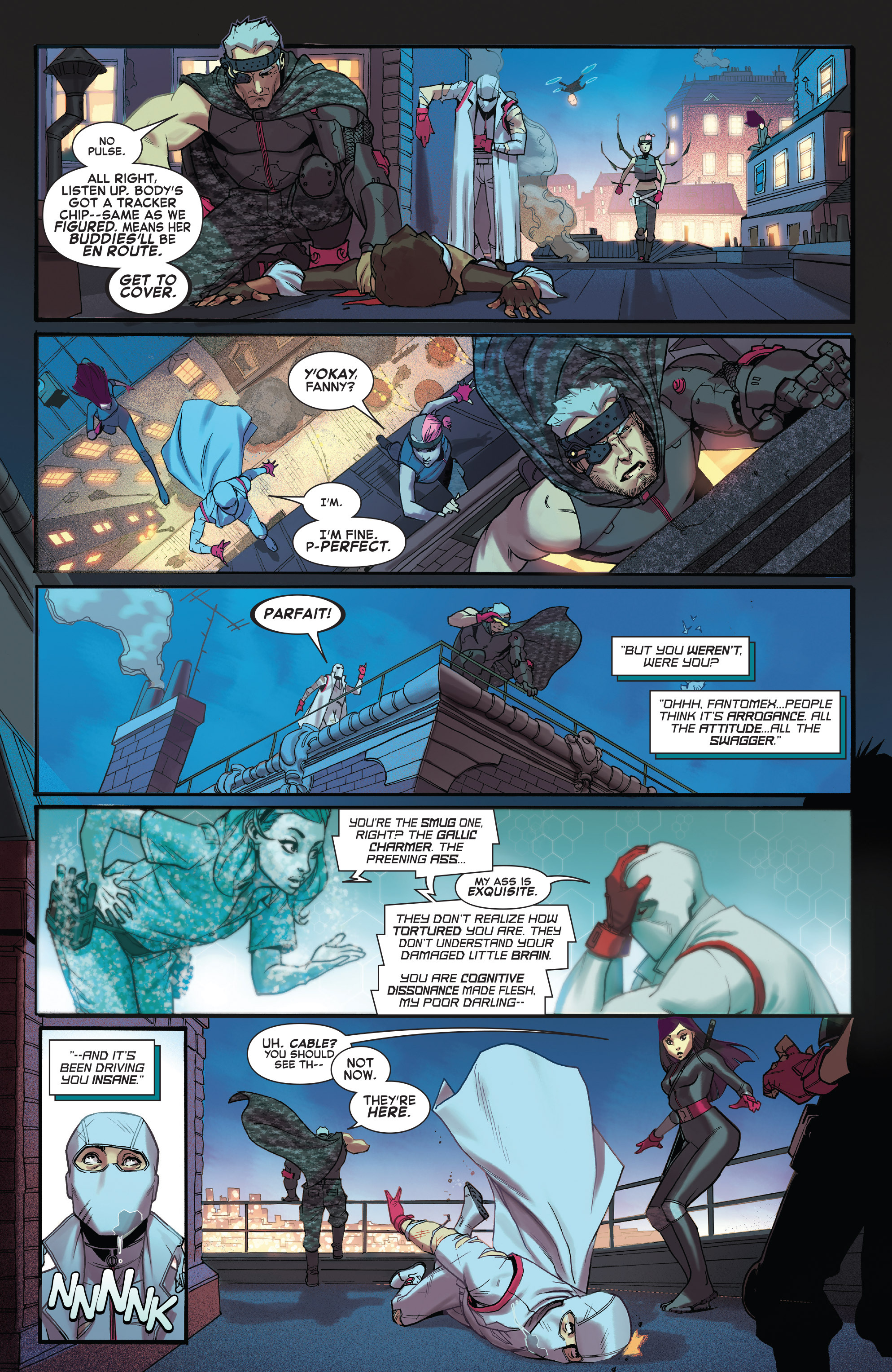 Read online X-Force (2014) comic -  Issue #4 - 15