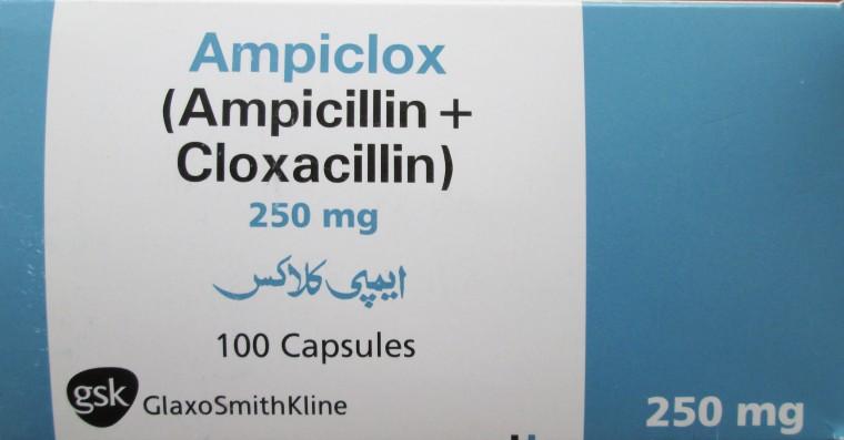 GSK | Beacham | Ampiclox 500mg Capsules | m-Medix.com
