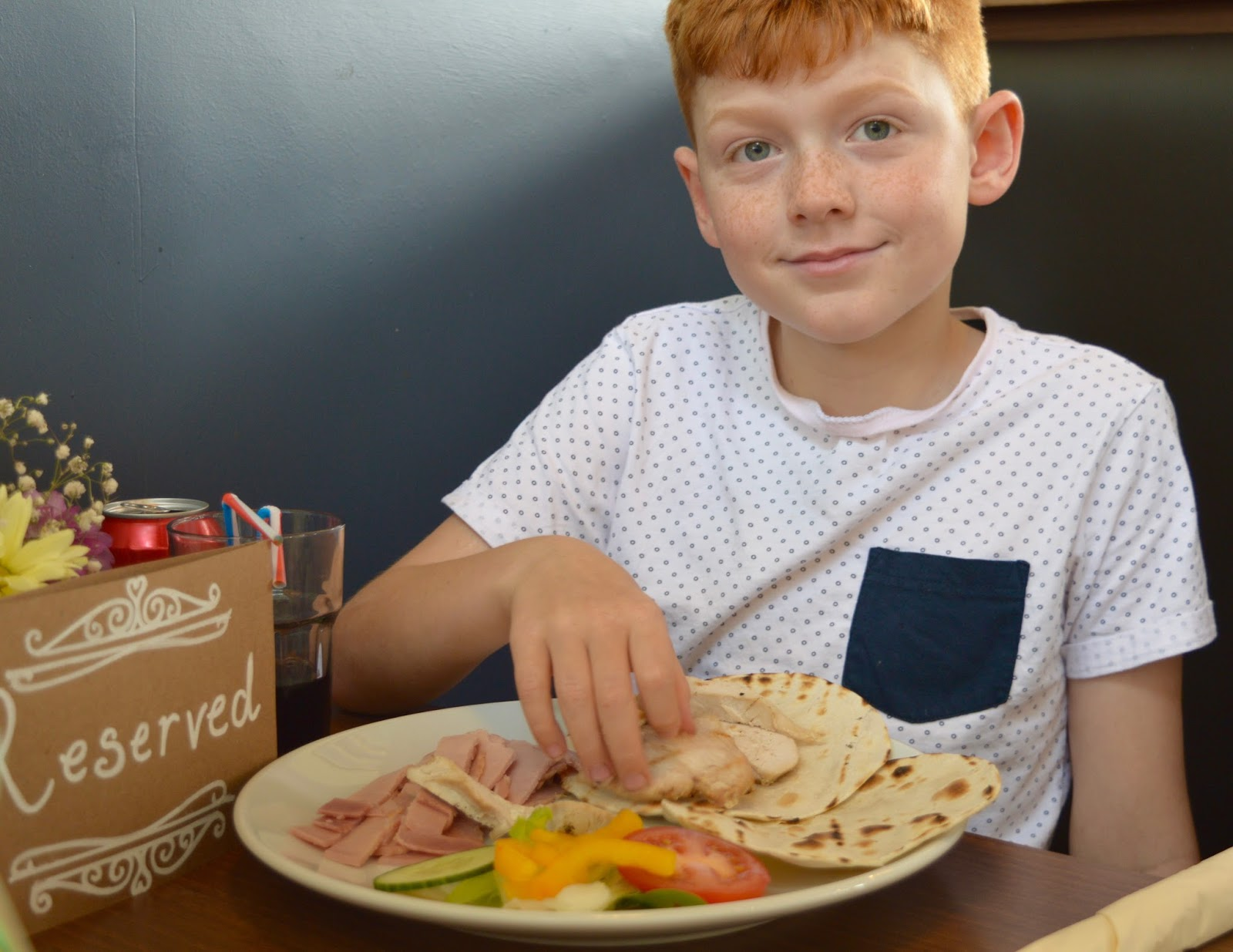 Cafe 32 | Linskill Centre, North Shields - A review - children's menu - make your own wrap
