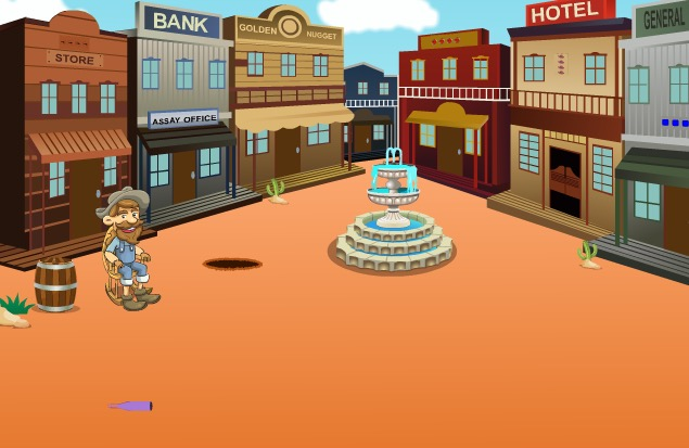 Play Cowboy Treasure Box Escap…