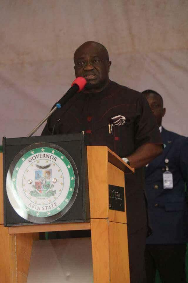 Under 3 years Dr Ikpeazu has shown commitment to develop Abia State and the work is still ongoing.....