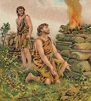 The Story of Cain and Abel (Bible Card)