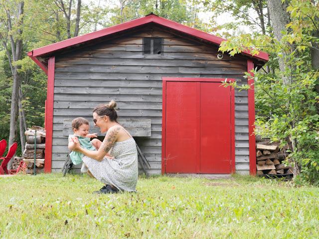 canadá con niños jarabe arce