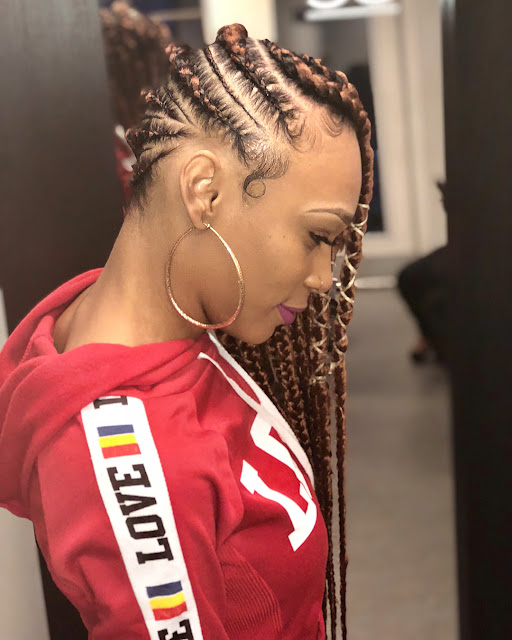 These came to be known as lemonade braids ✘ 34 Trendy Big Lemonade Braids Hairstyles Ponytails With Colors To Copy In 2020