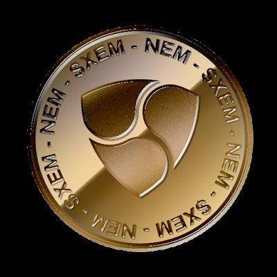 ネム(NEM)のフリー素材(銅貨ver)