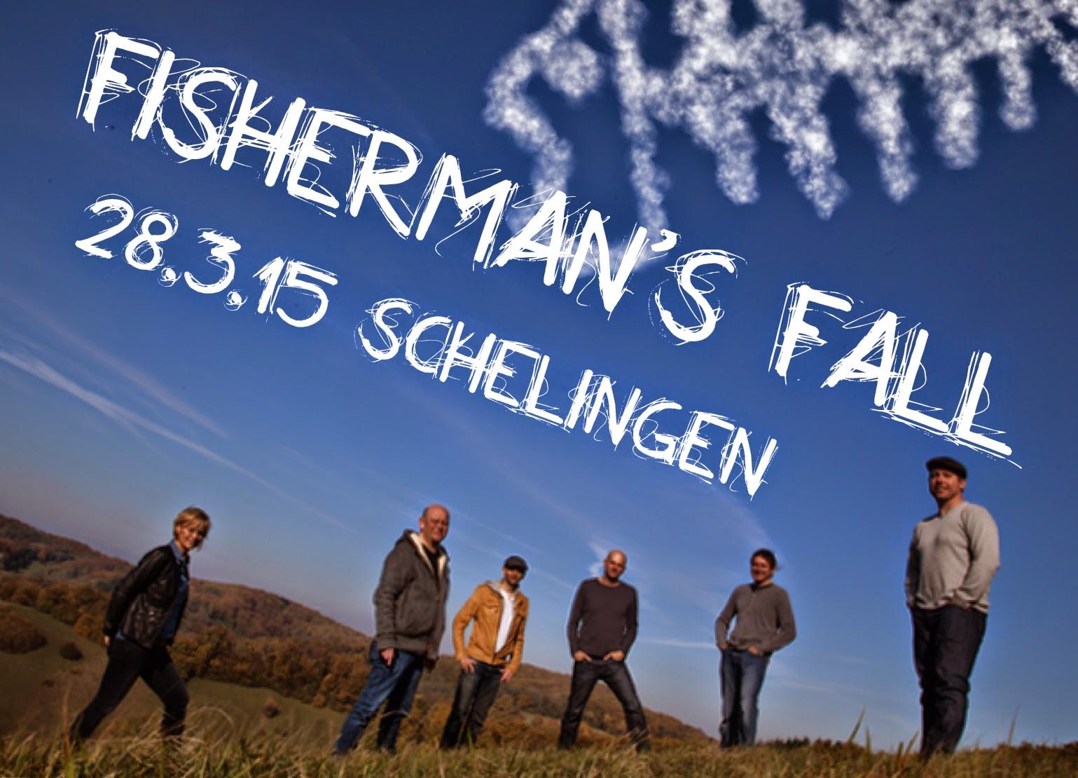 Frühjahrskonzert mit Fisherman's Fall in Schelingen im Kaiserstuhl